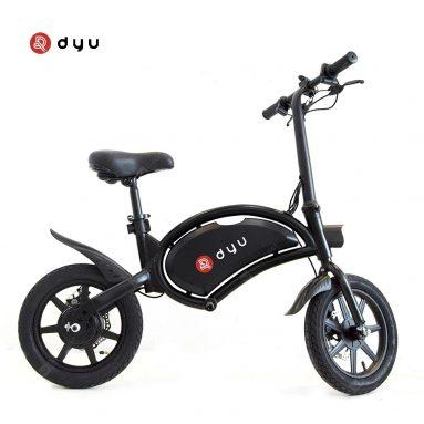 426 € עם קופון עבור DYU D3F 10Ah 36V 250W אופניים חשמליים מתקפלים טוסטוס 14in 25km / h מהירות עליונה 20-40km קילומטראז עומס מקסימלי 120kg אופניים אלקטרוניים אינטליגנטי מאיחוד האיחוד האירופי CZ מ BANGGOOD