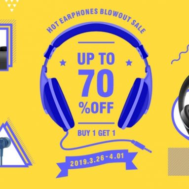 HOT EARPHONES BLOWOUT SALE – UP TO 70% OFF – BUY 1 GET 1 FREE from GEARVITA