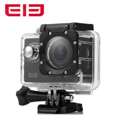 $46 with coupon for Original Elephone ELE Explorer 4K Ultra HD WiFi Action Camera – BLACK from GearBest