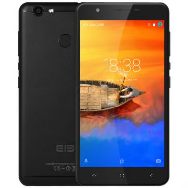 $84 with coupon for Elephone C1X 4G Phablet – BLACK from GearBest