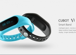$9 FLASHSALE for CUBOT V1 Sleep Monitoring Smart Band IP65 Waterproof – BLACK from GearBest