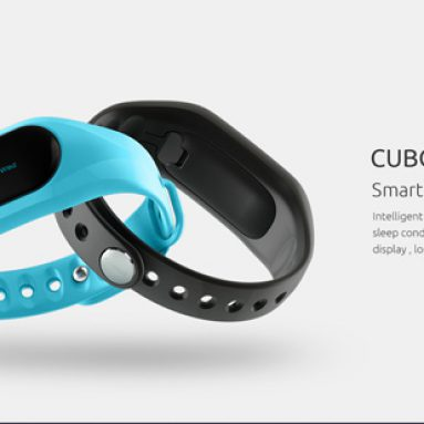 $13.91 for CUBOT V1 Smart Bracelet Touch OLED Screen Big Battery Call SMS Reminder Pedometer Mileage Calorie Monitor Anti Lost  from TinyDeal
