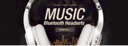 23% OFF untuk Wireless Bluetooth 4.1 Olahraga Magnetik Headset Stereo Earphone dengan Mic untuk Smartphone iPhone 7 dari TinyDeal