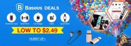 Diskon Penjualan Rendah ke $ 2.49 Baseus dari TinyDeal