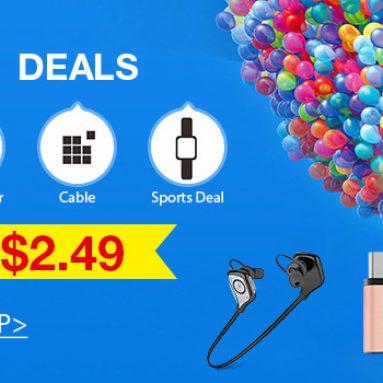 נמוך ל $ 2.49 עסקאות Baseus למכירה מ TinyDeal