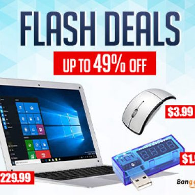 Ưu đãi về Flash: Tối đa 49% OFF Máy tính & Mạng từ CÔNG TY TNHH CÔNG NGHỆ BANGGOOD