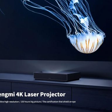 $1839 with coupon for Fengmi 4K Cinema Ultra Short Throw Laser Projector ( Xiaomi Ecosystem Product ) from GEARBEST