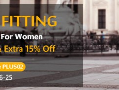 Up to 70% OFF & Extra 15% OFF with Coupon PLUS02 for Women Plus Size Fashion from Zapals