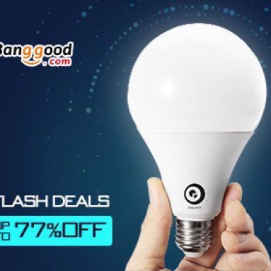 Flash nabídky: Až do 77% OFF pro svítidla a svítidla od společnosti BANGGOOD TECHNOLOGY CO., LIMITED