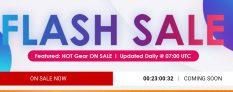 Flash-verkoop 100% koopje bij Gearbest.com