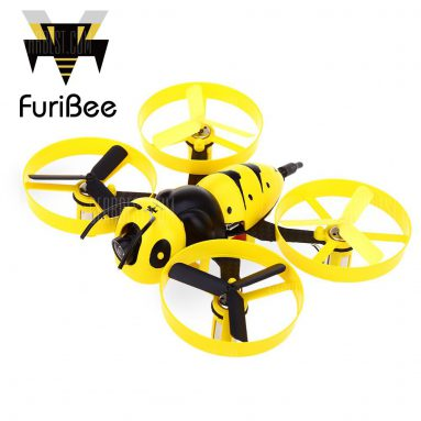 $ 49 flashsale cho FuriBee F90 90mm Wasp Thống FPV Racing Drone - BNF - VERSION 1 VÀNG từ GearBest
