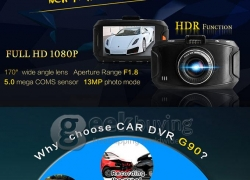 $20 OFF for Blackview G90 Car DVR Dashcam from Geekbuying