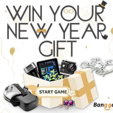 Hrajte hry a získejte svůj nový dar od společnosti BANGGOOD TECHNOLOGY CO., LIMITED