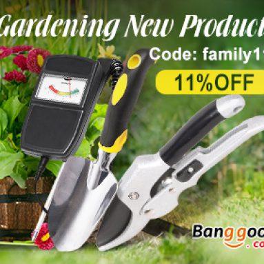 11% OFF pro zahradnictví Nová stránka produktu od společnosti BANGGOOD TECHNOLOGY CO., LIMITED