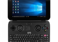 $310 with coupon for GPD WIN GamePad Tablet PC – BLACK from Gearbest
