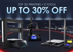 How about a new 3D Printer? GearBest has INSANE prices only for Today!