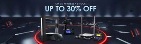 एक नया 3D प्रिंटर के बारे में कैसे? गियरबेस्ट में केवल आज के लिए INSANE कीमतें हैं!