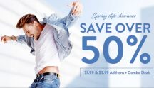 GEARBEST Men Summer Fashion End of Season Massive Clearance Up to 50% OFF