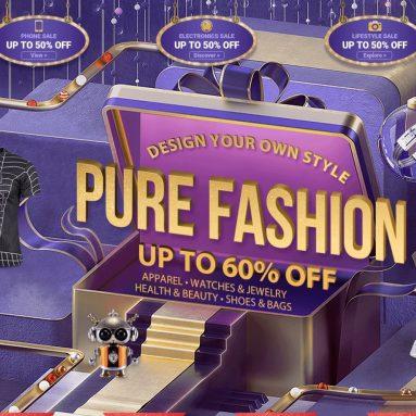 60th Anniversary、衣類や衣類の4%までの大量販売