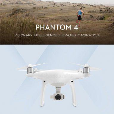 Giảm giá 10% cho DJI Phantom 4 4K Quadcopter từ Geekbuying