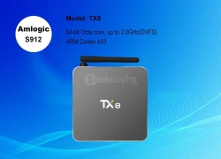 $8 OFF for Tanix TX8 from Geekbuying