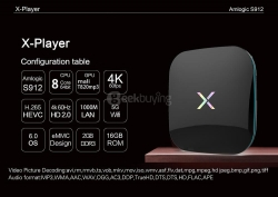 $7 OFF for X-Player 2G 16G TV BOX  from Geekbuying