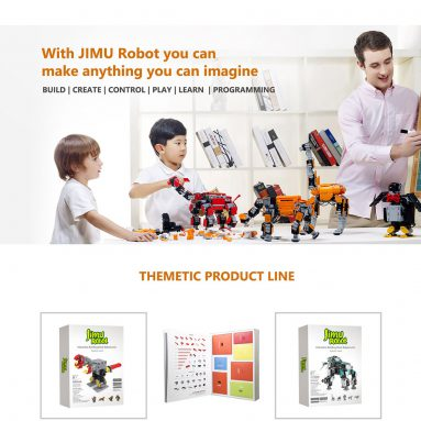 $50 off for JIMU Explorer Smart Robot US Plug from Geekbuying