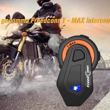 gocomma Freedconn T 용 쿠폰이 포함 된 $ 50 – GEARBEST의 MAX Motorcycle Bluetooth Intercom