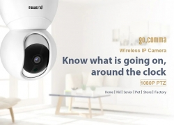 $27 with coupon for gocomma Lilliput-001 1080P WiFi Security IP Camera 2MP – WHITE US PLUG from GearBest