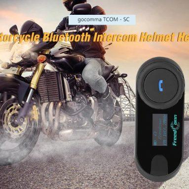 $ 45 s kupónom pre gocomma TCOM - SC Headset s prilbou na motocykel od GEARBEST