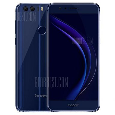 $ 321 s kuponem pro Huawei Honor 8 Global Version 4G Smartphone Blue od GearBest