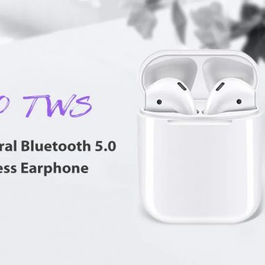 $17 with coupon for i100 TWS Binaural Bluetooth 5.0 Wireless Earphone from GEARBEST