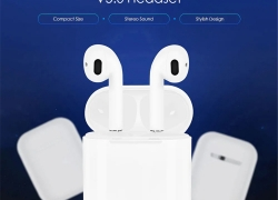 € 17 med kupon til i12 TWS Binaural Call Bluetooth V5.0-headset fra GEARBEST
