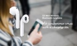 € 15 med kupong for i15 Max Touch Wireless Bluetooth 5.0 øretelefoner fra GEARBEST