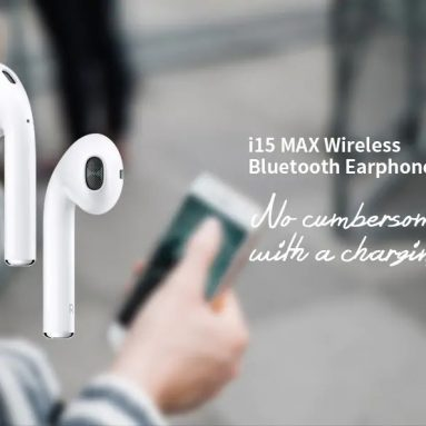 €15 with coupon for i15 Max Touch Wireless Bluetooth 5.0 Earphones from GEARBEST