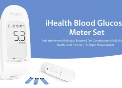 €38 with coupon for iHealth AG – 607 Blood Glucose Tester Set from Xiaomi youpin from GearBest