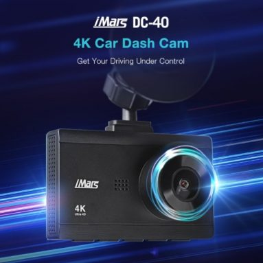 €32 with coupon for iMars DC-40 3Inch 4K HD Car DVR Camera Dual Lens Loop Recording 170 Degree Parking Monitoring Dash Cam Front Rear Recorder – DC40 Car DVR from BANGGOOD