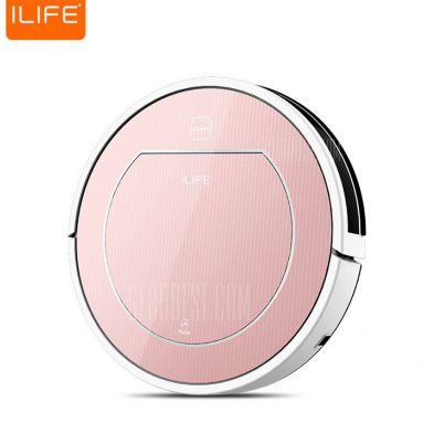 Only $136 with coupon for ILIFE V7S Pro Smart Robotic Vacuum Cleaner  –  EU PLUG  ROSE GOLD from Gearbest