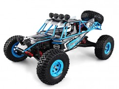 $58 with coupon for JJRC Q39 HIGHLANDER 1:12 4WD RC Desert Truck – RTR  –  BLUE from GearBest