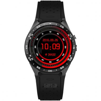 $79 with coupon for KingWear KW88 3G Smartwatch Phone from GearBest