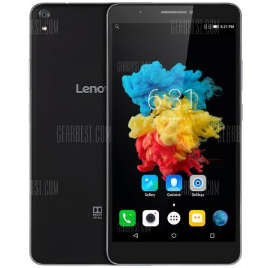 $99 with coupon for Lenovo PHAB 4G Phablet  –  BLACK from Gearbest