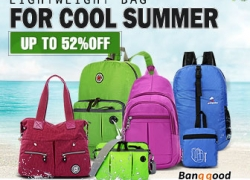 Up to 52% OFF for Lighweight Women Bags from BANGGOOD TECHNOLOGY CO., LIMITED