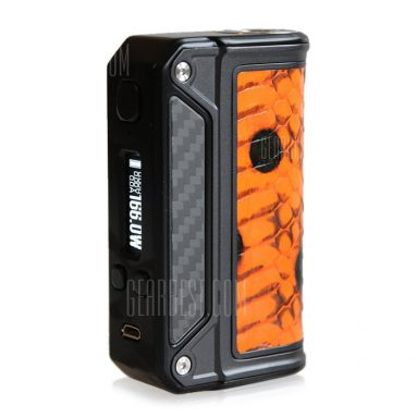 $121 with coupon for Lost Vape Therion DNA 166W TC Box Mod for E Cigarette  –  DARKSALMON from Gearbest