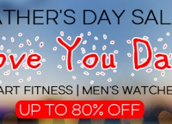 Up to 80% OFF Father's Day Sale Smart Fitness / Men's Watches from Zapals