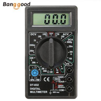 $ 2.98 pro digitální multimetr DANIU DT832 společnosti BANGGOOD TECHNOLOGY CO., LIMITED