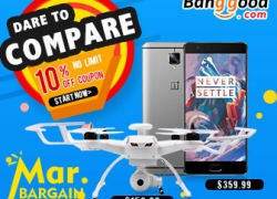 March Big Bargain: 10% OFF Sitewide Coupon for ALL Categories from BANGGOOD TECHNOLOGY CO., LIMITED