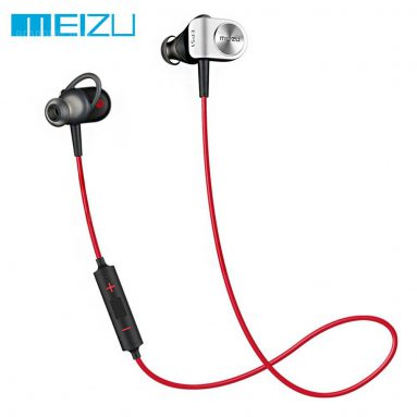 $19 with coupon for Original Meizu EP-51 HiFi Music Sport In-ear Bluetooth Earphones  – LOVE RED from GearBest