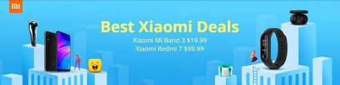 Xiaomi Products Discounted in GearBest: Grab Your Desired Devices!