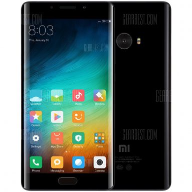 $259 with coupon for Xiaomi Mi Note 2 4G Phablet  International Version  – EU WAREHOUSE 4GB RAM 64GB ROM PHOTO BLACK from GearBest