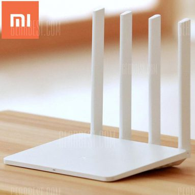 $23 with coupon for Original English Version Xiaomi Mi WiFi Router 3  –  128MB  WHITE EU warehouse from GearBest